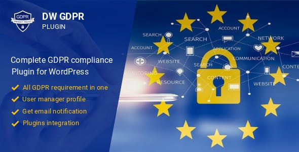 DW GDPR - WordPress GDPR compliance plugin