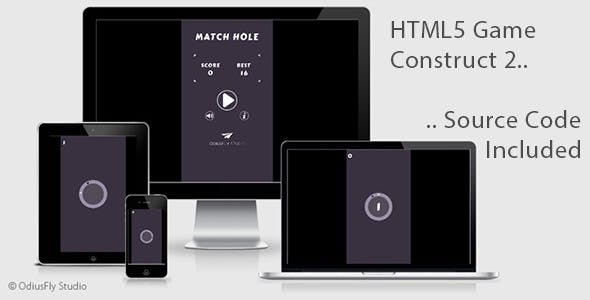 Match Hole - HTML5 Game (Construct 2)