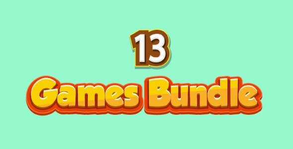 Bundle N°1 : 13 HTML5 GAMES (CAPX + HTML5) & 80% OFF