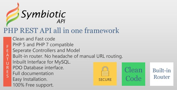 PHP REST API all in one framework