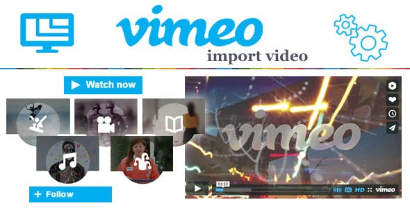 Vimeo Video Import to Prestashop