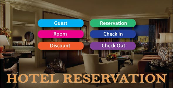 Easy Reservation 2021 | Hotel Management System With Full Source Code