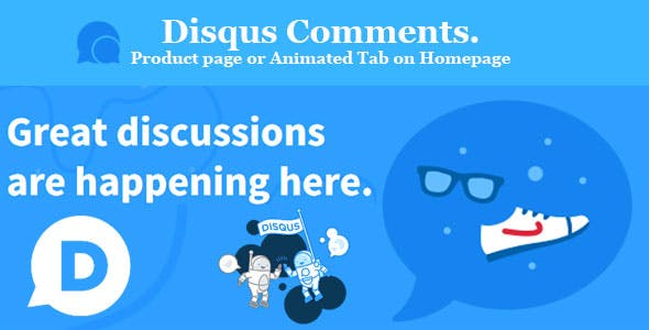 Disqus Comments. Product page or Animated Tab on Homepage Prestashop