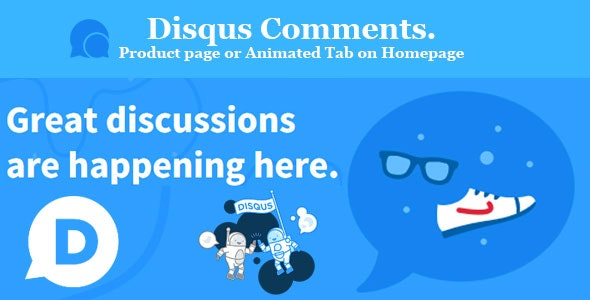 Disqus Comments. Product page or Animated Tab on Homepage Prestashop - CodeCanyon Item for Sale