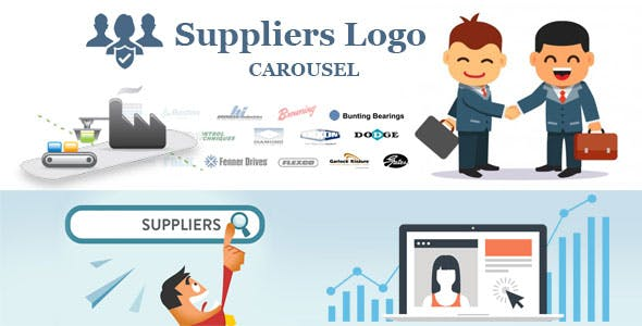 Suppliers logo carousel