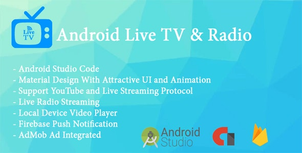 Live TV App With Radio Streaming and Local Video Player - CodeCanyon Item for Sale
