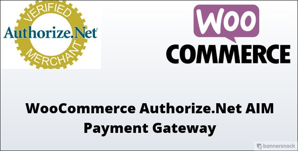WooCommerce Authorize.Net AIM Payment Gateway - CodeCanyon Item for Sale