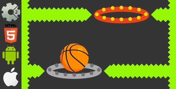 Dunk Hoop - HTML5 Game + Mobile Version! (Construct-2 CAPX)