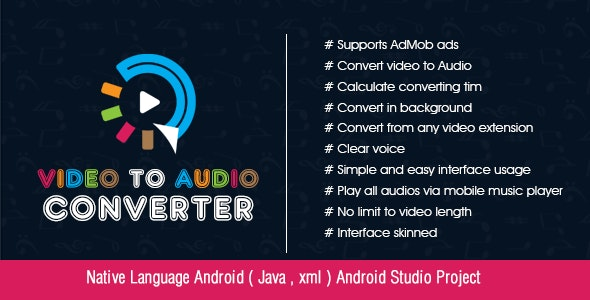 Video to Audio converter - CodeCanyon Item for Sale