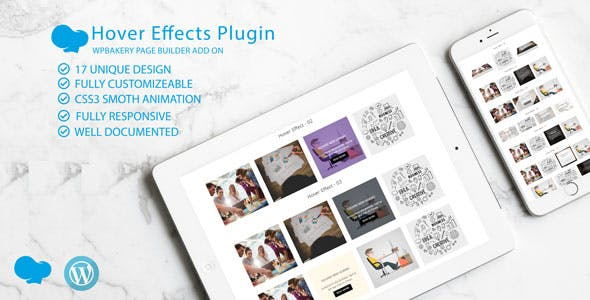 Image /Thumb Hover Effects Collection - WPBakery Page Builder Addon