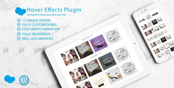 Image /Thumb Hover Effects Collection - WPBakery Page Builder Addon - CodeCanyon Item for Sale