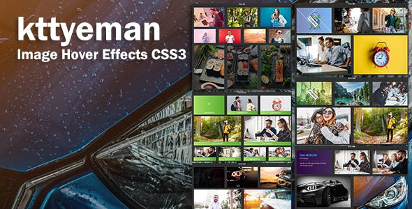 kttyeman - CSS3 Image Hover Effects - CodeCanyon Item for Sale