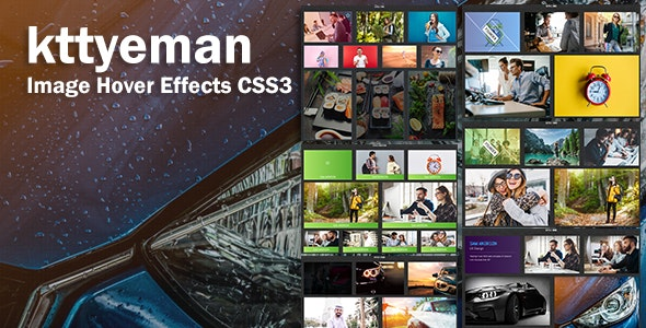 kttyeman - CSS3 Image Hover Effects