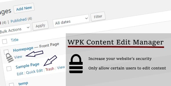 WPK Content Edit Manager