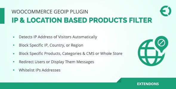 WooCommerce Geolocation Plugin - IP Based Products Filter