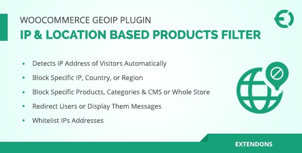 WooCommerce Geolocation Plugin - IP Based Products Filter by
