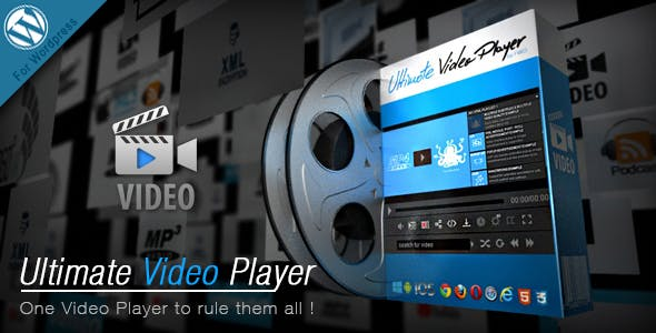 Ultimate Video Player Wordpress Plugin        Nulled