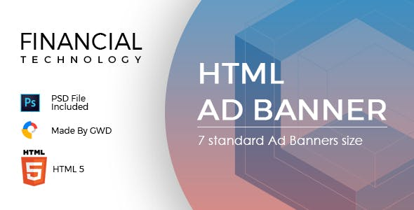 Financial Technology Ad Banners