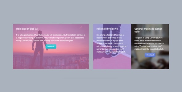 Side by Side V2 - Addon for WPBakery Page Builder (formerly Visual Composer) - CodeCanyon Item for Sale
