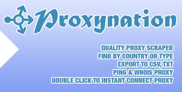 Proxy List Plugins, Code & Scripts from CodeCanyon