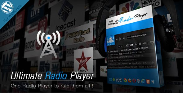 Ultimate Radio Player Wordpress Plugin