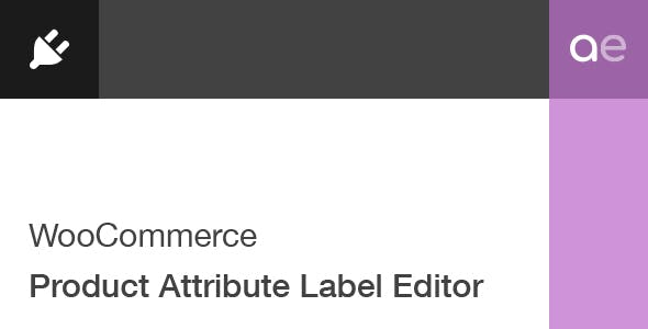 WooCommerce Product Attribute Label Editor - CodeCanyon Item for Sale