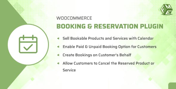 WooCommerce Booking & Reservation Plugin