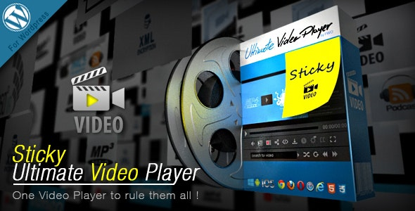 Sticky Ultimate Video Player Wordpress Plugin - CodeCanyon Item for Sale