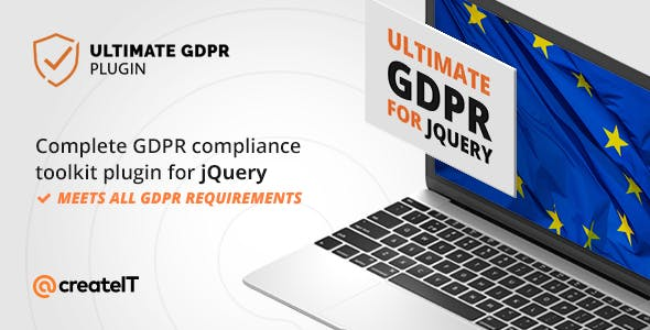 Ultimate GDPR Compliance jQuery Toolkit - CodeCanyon Item for Sale