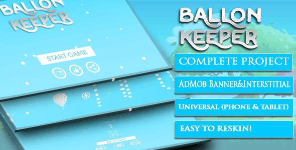 Ballon Keeper + Template Buildbox + Android studoi + admob - CodeCanyon Item for Sale