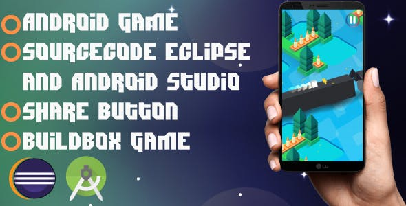 3D Cube Game: Android game-admob ads-share and easy to reskin