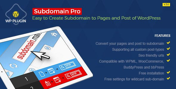 Subdomain Pro