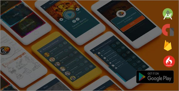 Make A Music Player App With Mobile App Templates