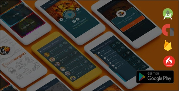 Online + Offline Android Audio Player by AditeTechnologies | CodeCanyon