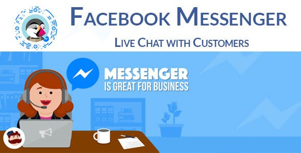 Facebook Messenger for PrestaShop