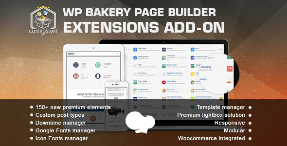 Composium - WP Bakery Page Builder Extensions Addon (formerly for Visual Composer)        Nulled