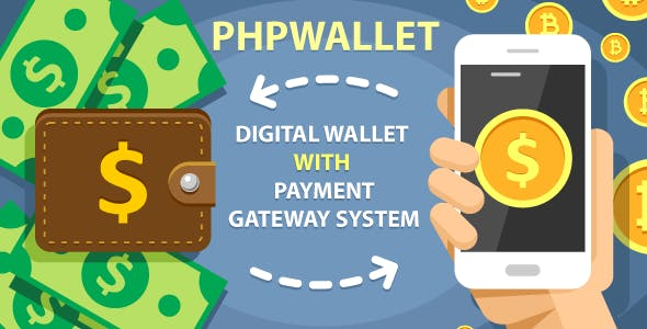 phpWallet - e-wallet and online payment gateway system.