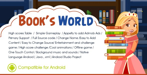 Book's world Android Admob Ads