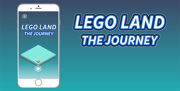 Lego Land iOS Game Template With Admob Interstitial Ads
