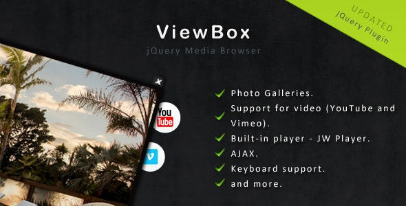 ViewBox - Media Browser - LightBox Alternative