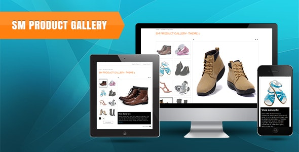 SM Product Gallery - Responsive Magento Module - CodeCanyon Item for Sale
