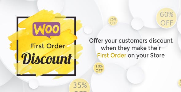 WooCommerce First Order Discount