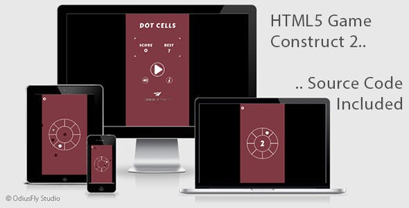 Dot Cells - HTML5 Game (Construct 2)