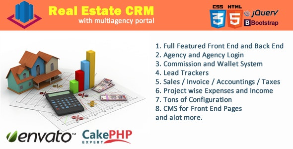 Real Estate CRM Portal - CodeCanyon Item for Sale