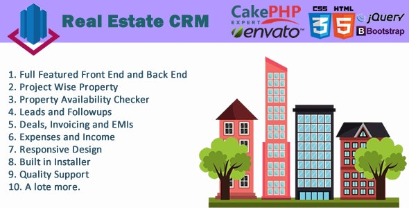 Real Estate CRM Pro - CodeCanyon Item for Sale