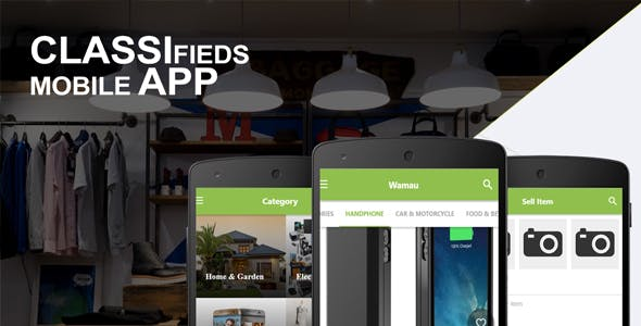 Classifieds Mobile App With CMS V.1.1 - Ionic Full Application