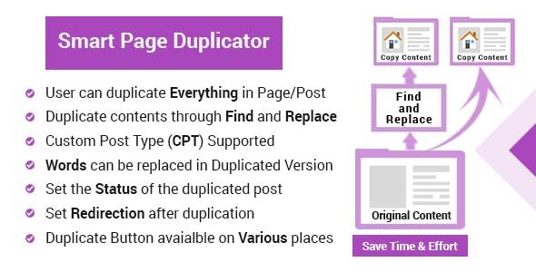 WordPress Page Duplicator