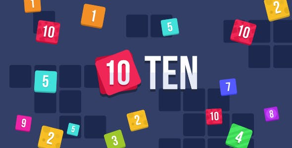 TEN (10) - HTML5 Puzzle Game (Construct 2)