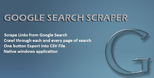 Google Search Scraper