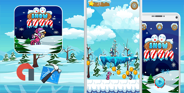 Snow Boom Eskimo Run +New Ready For Publish - CodeCanyon Item for Sale